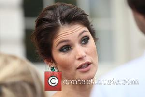 Gemma Arterton - UK premiere of Gemma Bovery, Film4 Summer Screen Opening Night, held at Somerset House - Arrivals at...