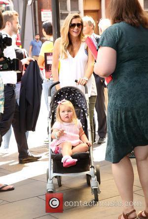 Imogen Thomas and Daughter Ariana
