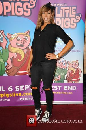 Javine Hylton - VIP's and celebrities attend a VIP performance of 'The Three Little Pigs' at Palace Theatre, Shaftesbury Avenue...