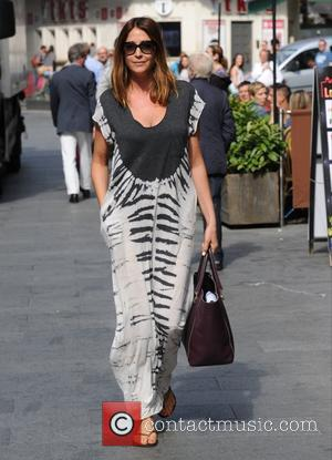 Lisa Snowdon - Lisa Snowdon seen out and about in London - London, United Kingdom - Friday 7th August 2015