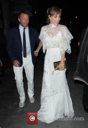 Guy Ritchie , Jacqui Ainsley - Guy Ritchie and Jacqui Ainsley spotted out to dinner at Scott's Restaurant in Mayfair...