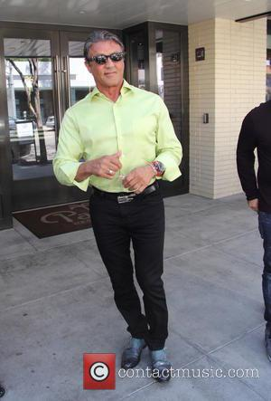 Sylvester Stallone - Sylvester Stallone spotted out to lunch at The Palm in Beverly Hills at beverly hills - Los...