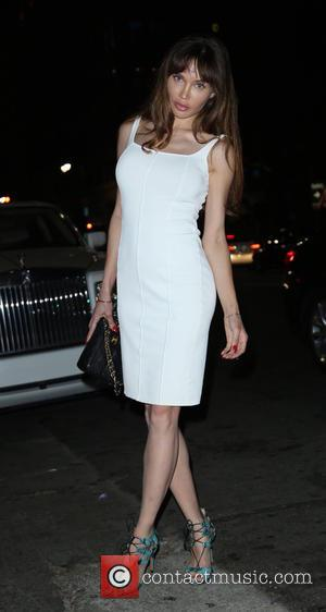 Natalie Gal - Celebrity Sightings in Hollywood - Los Angeles, California, United States - Friday 7th August 2015