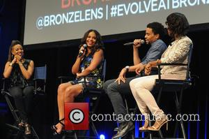 MC Lyte, Sanaa Lathan, Michael Ealy , Angelique Perrin - Cast of 'The Perfect Guy' attend a Q & A...