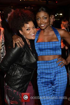 Yvette Nicole Brown , Patina Mille - Broadway musical 'Hamilton' at Chelsea Piers - After Party at Chelsea Piers -...