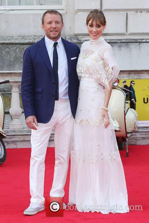 Guy Ritchie , Jacqui Ainsley - Film4 Summer Screen People's Premiere of 'The Man From U.N.C.L.E.' held at Somerset House...