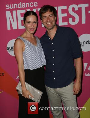 Katie Aselton , Mark Duplass - Los Angeles premiere of 'Mistress America' during the 2015 Sundance NEXT FEST held at...