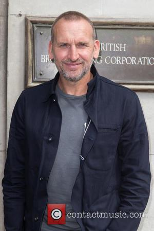Christopher Eccleston - Celebrities at the BBC Studios - Christopher Eccleston at BBC Portland Place - London, United Kingdom -...