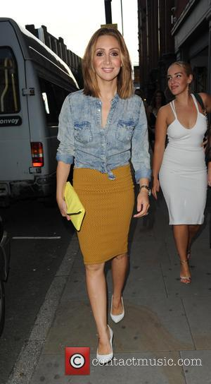 Lucy-Jo Hudson - 'The X Factor' star Carolynne Poole celebrates her birthday with friends at Sakana Restaurant and Club Liv...