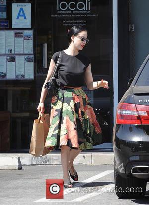 Dita Von Teese - Dita Von Teese spotted shopping at Locali in Hollywood - Los Angeles, California, United States -...