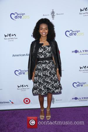 Yara Shahidi - 17th Annual DesignCare Gala held at The LOT Studios - Arrivals - Los Angeles, California, United States...