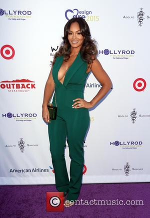 Evelyn Lozada - HollyRod Foundation's 17th Annual DesignCare Gala - Arrivals at The Lot Studios - Los Angeles, California, United...