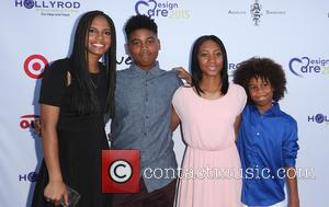 Ryan Elizabeth Peete, Rodney Peete Jr, Mo'ne Davis , Robinson James Peete - HollyRod Foundation's 17th Annual DesignCare Gala -...