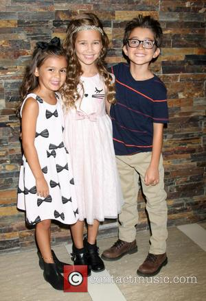 Landon Silzer, Brooklyn Rae Silzer , Nicolas Bechtel - General Hospital Fun Luncheon held at Embassy Suites Hotel at Embassy...