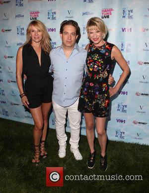 Ramona Singer, Charlie Walk , Julie Macklowe - VH1 Save The Music Foundation 'Hamptons Live' Benefit at a Private Residence...