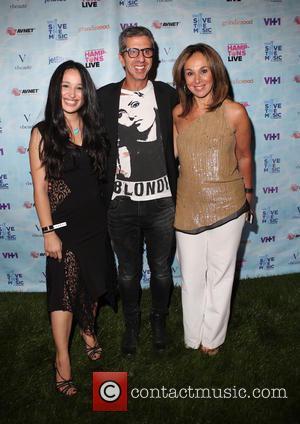 Jenna, Jason Flom and Rosanna Scotto