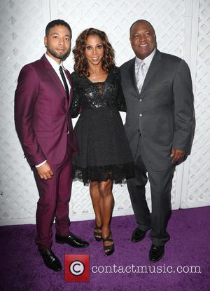 Jussie Smollett, Holly Robinson Peete and Rodney Peete