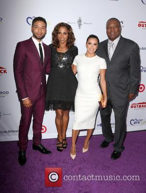 Jussie Smollett, Holly Robinson Peete, Eva Longoria and Rodney Peete