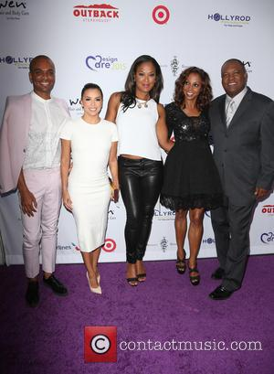 Travis London, Eva Longoria, Laila Ali, Holly Robinson Peete and Rodney Peete