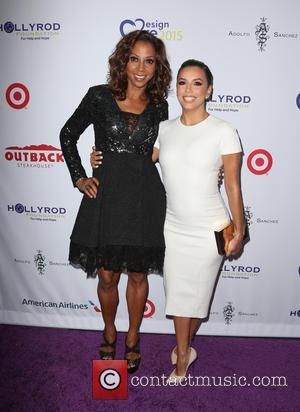 Holly Robinson Peete , Eva Longoria - HollyRod Foundation's 17th Annual DesignCare Gala - Arrivals at The Lot Studios -...