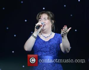 Susan Boyle - Susan Boyle and Merrill Osmund perform a duet at the Hearing Fund UK Gala Evening With Friends...
