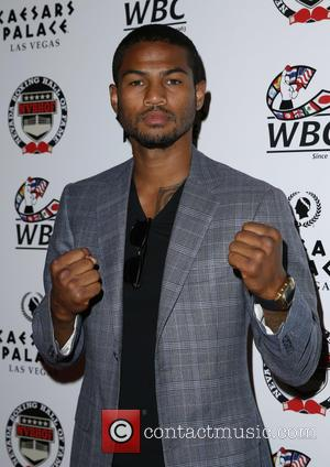 Shane Mosley Jr - Nevada Boxing Hall of Fame 2015 Induction Ceremony at Caesars Palace Las Vegas - Red Carpet...