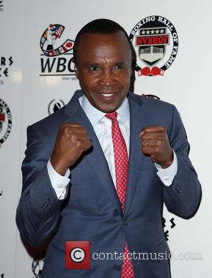 Sugar Ray Leonard - Nevada Boxing Hall of Fame 2015 Induction Ceremony at Caesars Palace Las Vegas - Red Carpet...