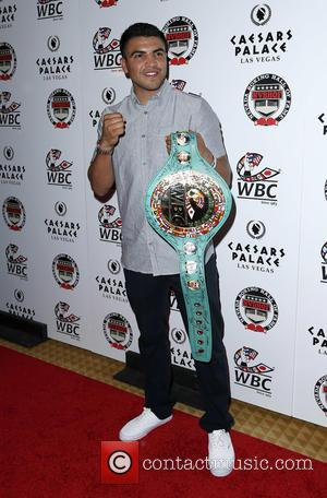 Victor Ortiz - Nevada Boxing Hall of Fame 2015 Induction Ceremony at Caesars Palace Las Vegas - Red Carpet at...