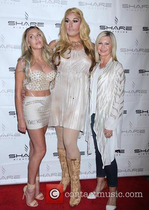 Olivia Newton-John, Chloe Lattanzi , Guest - Olivia Newton-John and daughter Chloe Lattanzi celebrate the 35th Anniversary of Xanadu with...