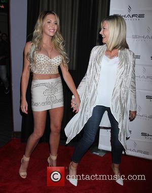 Olivia Newton-John , Chloe Lattanzi - Olivia Newton-John and daughter Chloe Lattanzi celebrate the 35th Anniversary of Xanadu with World...