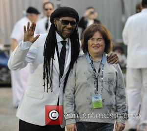 Nile Rodgers and Susan Boyle