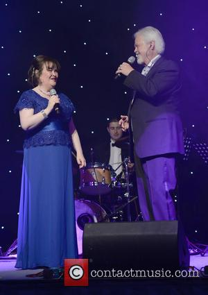 Susan Boyle and Merrill Osmond