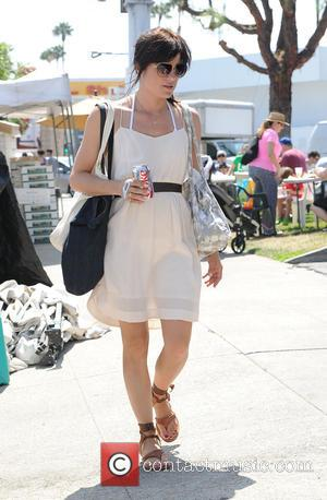 Selma Blair - Selma Blair takes her son Arthur to the Farmers Market - Los Angeles, California, United States -...