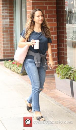 Jennifer Meyer - Jennifer Meyer goes shopping in Beverly Hills holding a coffee - Los Angeles, California, United States -...
