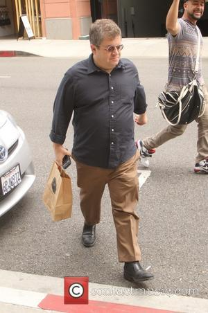 Patton Oswalt - American stand-up comedian, Patton Oswalt goes shopping in Beverly Hills - Los Angeles, California, United States -...