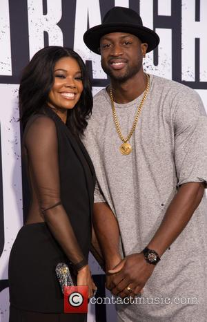 Gabrielle Union , Dywane Wade - World Premiere of Universal Pictures' 'Straight Outta Compton' held at The Microsoft Theatre -...