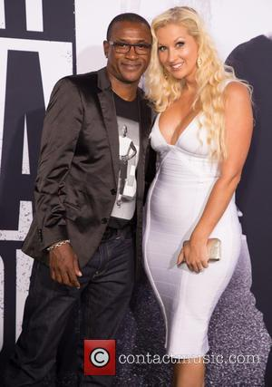 Tommy Davidson , Arleen Davidson - World Premiere of Universal Pictures' 'Straight Outta Compton' held at The Microsoft Theatre -...