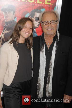 Mick Jones , daughter - New York premiere of 'The Man From U.N.C.L.E.' at The Ziegfeld Theater - Red Carpet...