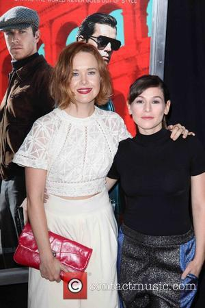 Yael Stone - New York premiere of 'The Man From U.N.C.L.E.' at The Ziegfeld Theater - Red Carpet Arrivals at...