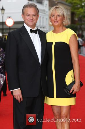 Hugh Bonneville and Wife