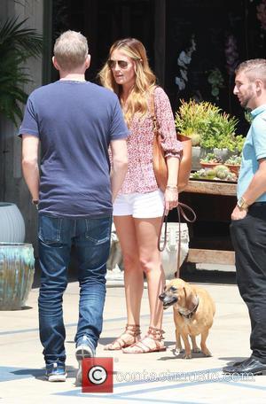 Cat Deeley, Patrick Kielty and Lily