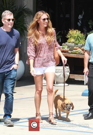 Cat Deeley, Patrick Kielty , Lily - Cat Deeley shopping for plants with her husband and pet dog at Rolling...