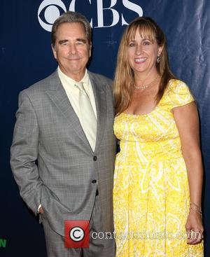 Beau Bridges , Wendy Treece - Celebrities attend the CBS, The CW, and Showtime 2015 Summer TCA Party  at...