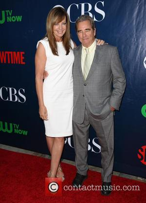 Allison Janney , Beau Bridges - Celebrities attend the CBS, The CW, and Showtime 2015 Summer TCA Party  at...