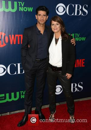 Raza Jaffrey , Marcia Gay Harden - Celebrities attend the CBS, The CW, and Showtime 2015 Summer TCA Party...