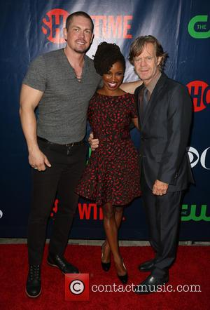 Steve Howey, Shanola Hampton and William H. Macy