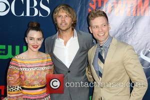 Renee Felice Smith, Eric Christian , Barrett Foa - Celebrities attend the CBS, The CW, and Showtime 2015 Summer TCA...