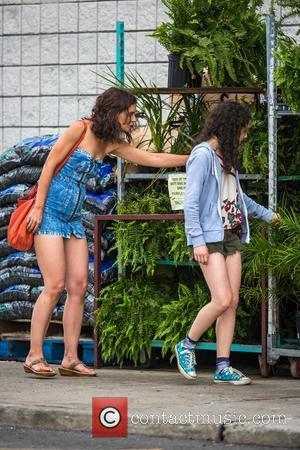 Katie Holmes and Stefania Owen
