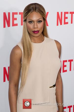 Laverne Cox - Netflix's special FYC screening of 'Orange Is The New Black' at the DGA Theater - Red Carpet...