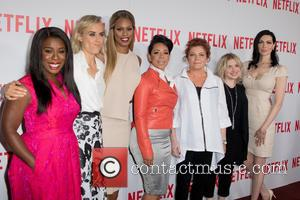 Uzo Aduba, Taylor Schilling, Laverne Cox, Selenis Levya, Kate Mulgrew, Jennifer Euston and Laura Prepon